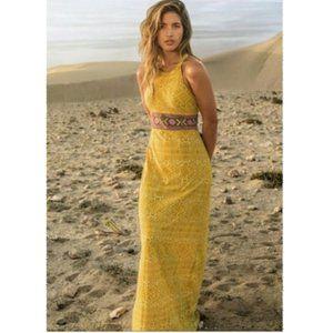 Prana Skye Maxi Dress Marigold sz XL